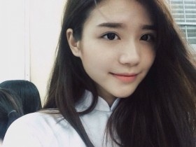 【GG扑克】越南高中生正妹Mai Diz 穿旗袍美女宛如仙女下凡