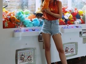 【GG扑克】韩国大长腿正妹kang_jeongwoon 傲人上围乳量惊人