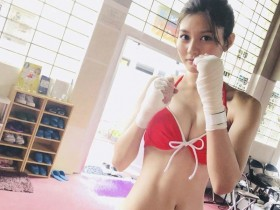 【GG扑克】日本甜美正妹HAYASHI YUME 化身拳击手来势凶猛