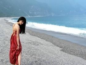 【GG扑克】甜美辣妹林巧子 前空姐晒旅游比基尼辣照