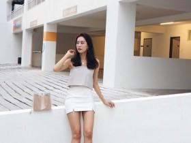 【GG扑克】大马气质正妹Eunice Qing 完美身材秀超狂马甲线