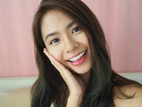【GG扑克】新加坡正妹Xin Lin 小清新甜美笑容治愈人心