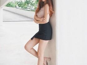 【GG扑克】女神级正妹Jovin Chan 修长性感美腿超吸睛