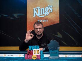 【GG扑克】德国小伙Marius Mikalauskas斩获捷克扑克大师赛冠军,奖金$76,779