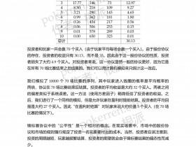 【GG扑克】扑克中的数学-第五部分-20: 锦标赛股份协议(下)——锦标赛XIX