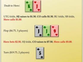 【GG扑克】对手推ALLIN,明三条该不该弃?