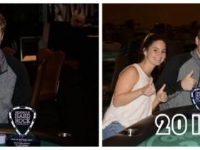【GG扑克】David Peters连续两年取得同一场摇滚扑克公开赛冠军