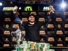 【GG扑克】Bryn Kenney斩获澳百主赛冠军,奖金$1,272,598 AUD