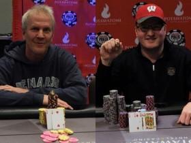 【GG扑克】父子Brett和Josh Reichard在WSOPC伯塔瓦托米站中分别斩获冠军!