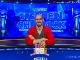 【GG扑克】卫冕冠军Stephen Chidwick斩获USPO2首场胜利,获得奖金$216,000