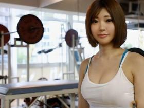 【GG扑克】MIFD-022:健身房打工妹的 男友同意下海?短发美少女「石川佑奈」想要更多的性爱…
