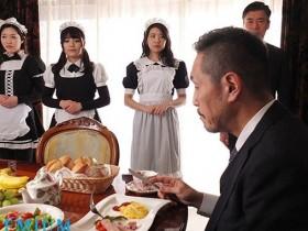 【GG扑克】PRED-140: 山岸逢花最新番号,男主不在家正妹女仆遭管家侵犯!