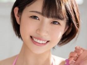 【GG扑克】女大学生短发小妹子葵伊吹(葵いぶき)青春偶像下海出名
