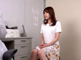 【GG扑克】GVH-093:美乳人妻森沢かな不孕求医被医生射好射满完美受孕!