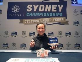 【GG扑克】Sosia Jiang赢得悉尼锦标赛豪客赛冠军,奖金A$266,000