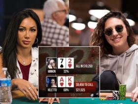 【GG扑克】Kelly Minkin将7-2打出了A-A的架势