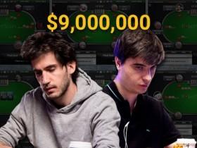 【GG扑克】在线上共斩获900万美元的俩基友