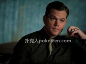 【GG扑克】马特·戴蒙深度讲解为什么《赌王之王》不会拍摄续集