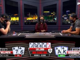 "【GG扑克】Phil Hellmuth的新单挑节目中击败了""魔术师"""