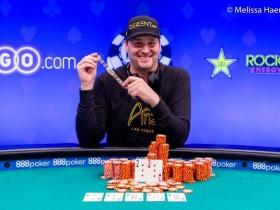 【GG扑克】Phil Hellmuth拿下第15条金手链,王者终将有传奇!