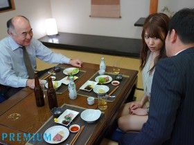 【GG扑克】PRED-256:丝袜美腿女秘书山岸逢花为老公的职位主动献身上司!