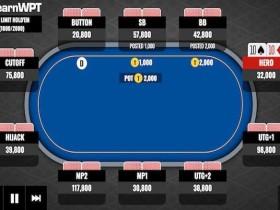 【GG扑克】牌局分析:枪口位置16BB的TT要不要翻前全压?
