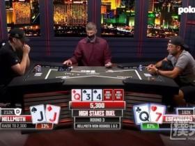 【GG扑克】单挑小能手Phil Hellmuth第三次击败Esfandiari