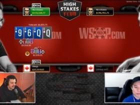 【GG扑克】扑克职业玩家Daniel Negreanu比赛输给Doug Polk