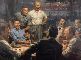 【GG扑克】艾森豪威尔 不爱打扑克的总统不是好将军!