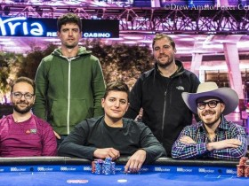 【GG扑克】美国扑克公开赛主赛事决赛桌:丹牛强势晋级!