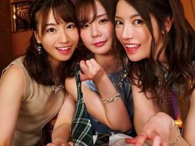 【GG扑克】IPX-497:初川みなみ x 枫カレン x 坂道みる合体榨精!