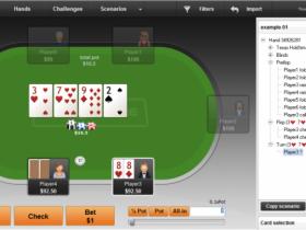 【GG扑克】PokerSnowie研究:25%底池大小下注牌例-1