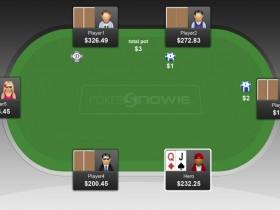 【GG扑克】PokerSnowie研究:我们应该在枪口位置用QJo率先加注吗?