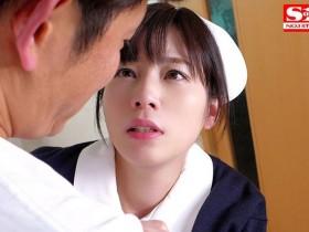 【GG扑克】SSNI-484 :豪乳少女奥田咲穿上护士制服开始为患者操劳!