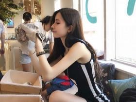 【GG扑克】平面模特正妹张雨乔Jisa 比基尼秀完美身材大长腿吸睛