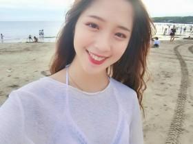 【GG扑克】台湾比基尼正妹陈芷均 极品美女甜美笑容治愈心情