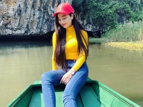 【GG扑克】越南旗袍美女Quỳnh Tram 甜美正妹气质迷人