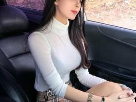 【GG扑克】韩国辣妹Min Jeong 透视装豪乳若隐若现