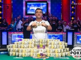 【GG扑克】Hossein Ensan问鼎2019 WSOP主赛,揽获$10,000,000奖金