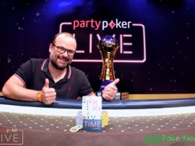 【GG扑克】Lukas Zaskodny斩获2019 partypoker LIVE MILLIONS欧洲站主赛冠军,入账€906,770
