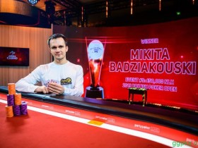 【GG扑克】Mikita Badziakouski斩获BPO第9项赛事£50,000 NLHE胜利!