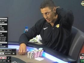 【GG扑克】现金局直播看点,Garrett Adelstein第三街弃掉顺子牌组