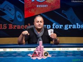 【GG扑克】Siamak Tooran摘得€25,500短牌赛事桂冠,揽获奖金€740,996