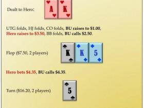 【GG扑克】六人桌常规局典型牌例100手-12