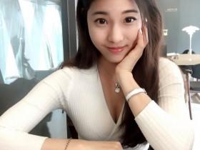 【GG扑克】文化大学正妹郑小奈 学霸美女甜美可爱