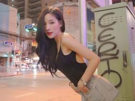 【GG扑克】泰国正妹叫Arys Nam-in 瓜子脸美女正妹身材火辣