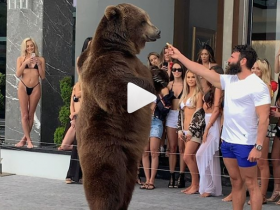 【GG扑克】Dan Bilzerian拿熊娱乐被PETA指责,霸气回怼让对方瞬间语塞