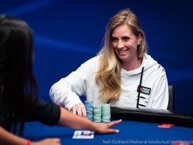 【GG扑克】EPT蒙特卡洛主赛:女玩家Evy Widvey Kvilhaug从€55到€27,680的精彩演绎