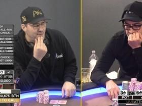 【GG扑克】Phil Hellmuth和Antonio Esfandiari约定单挑,输得一方将被泰瑟枪电击?