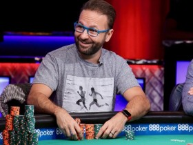 【GG扑克】Daniel Negreanu领跑$10K桩牌决胜桌,能如愿以偿的收获第7条WSOP金手链吗?